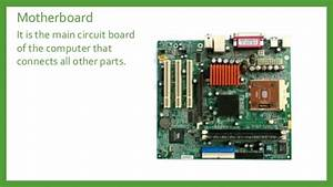 Motherboard Parts And Functions Pdf