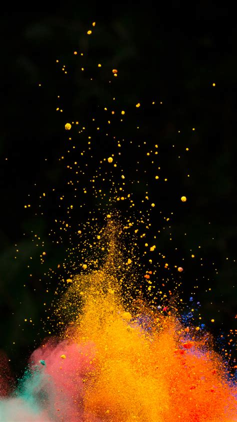 Background Images Cool Black Powder H5 Background Material Cool Powder