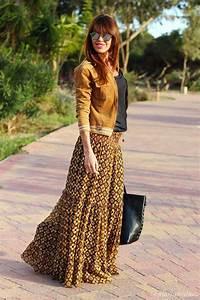 Mode Hippie Chic : falda larga colores tierra hippie chic fashion ~ Voncanada.com Idées de Décoration