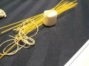 Spaghetti Marshmallow Tower