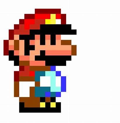 Mario Pixel Transparent Clipart Super Bros Background
