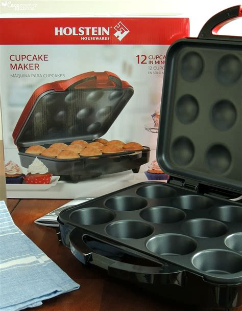 making frozen cupcakes  holstein cupcake maker
