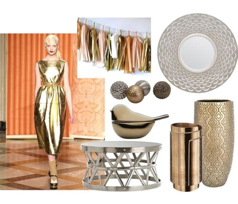 Fashion Influence In Home Decor Metallic  Storypiece