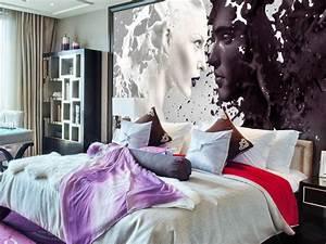 Die Richtige Farbe Fürs Schlafzimmer : wie die richtige tapete dein ganzes schlafzimmer versch nert ~ Sanjose-hotels-ca.com Haus und Dekorationen