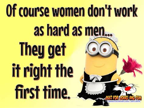Women Dpnt Work As Hard As Men Because They Get It Right