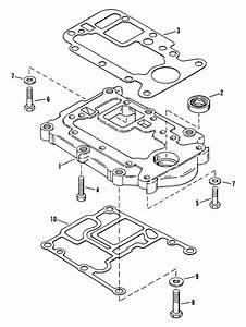 Force 50 Hp  1995  Adaptor Plate