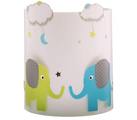 suspension chambre bébé garçon applique chambre bb elephant et nuages fabrique casse