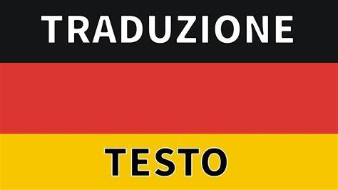 Testo In Tedesco Inno Germania Traduzione Testo Traduzione Sottotitoli In