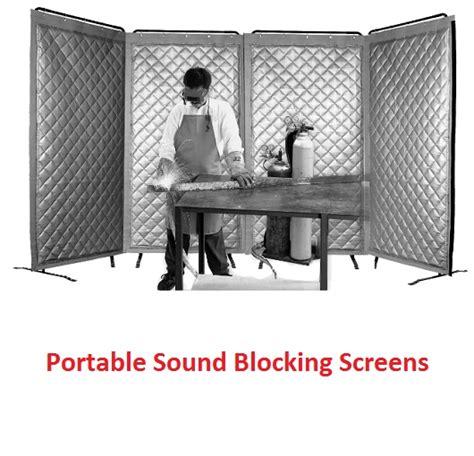 portable sound blocking screens akon curtain and dividers