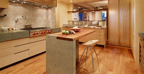 island design kitchen modern concrete meets traditional cheng concrete exchange