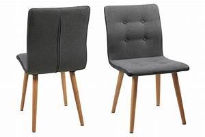 Ac Design Stuhl : ac design furniture stuhl charlotte b 43 x t 55 x h 88 cm stoff grau k che ~ Frokenaadalensverden.com Haus und Dekorationen