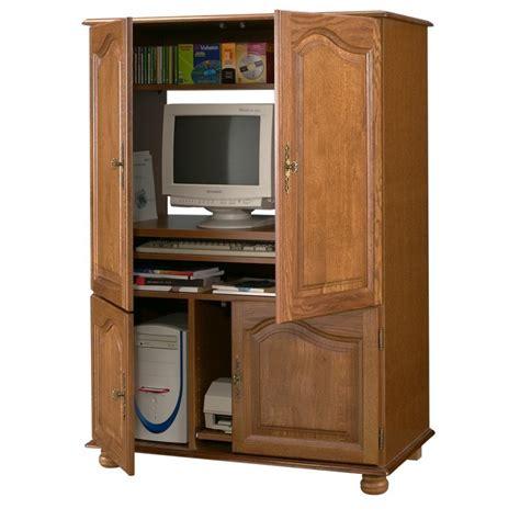 Meuble Informatique Armoire Multimédia armoire informatique ch 234 ne 4 portes beaux meubles pas chers