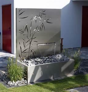 Wasser Im Garten Modern : eindr cke metall und wasser im garten ~ Articles-book.com Haus und Dekorationen