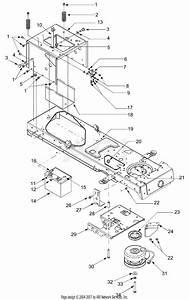 Mtd 14az814k401  2003  Parts Diagram For Pto  Battery