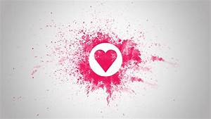Love Heart Pink 1600x900 HD Wallpaper | Love Wallpapers ...
