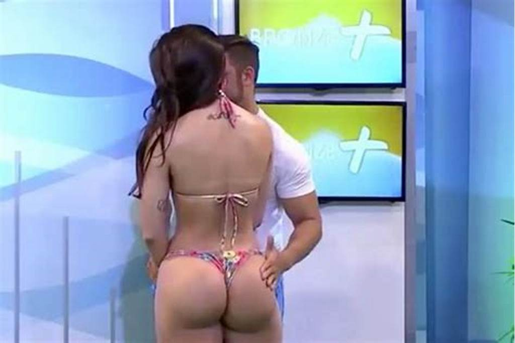 #Bikini #Model #Slaps #Presenter #Who #Grabbed #Her #Bum #Twice #On