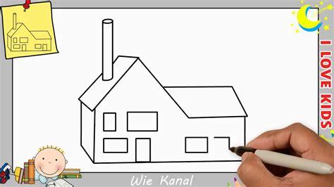 Haus Zeichnen Lernen by Haus Zeichnen Schritt F 252 R Schritt F 252 R Anf 228 Nger Kinder