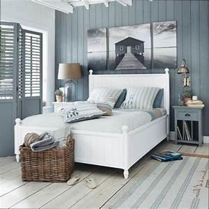 Bett Maison Du Monde : chambre deco deco chambre theme bord de mer ~ Whattoseeinmadrid.com Haus und Dekorationen