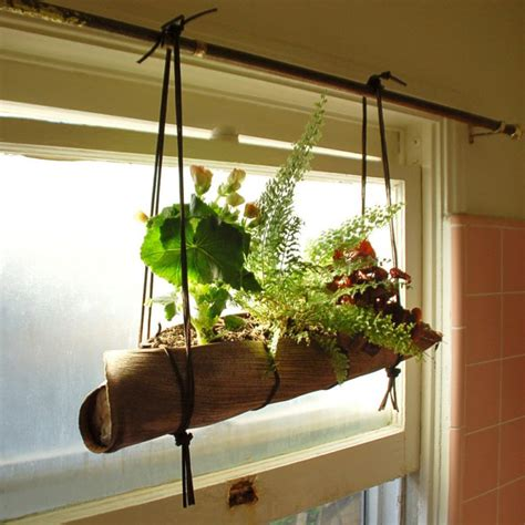 Window Sill Plant Holder by 18 Alluring Indoor Wall Hanging Planter Designs