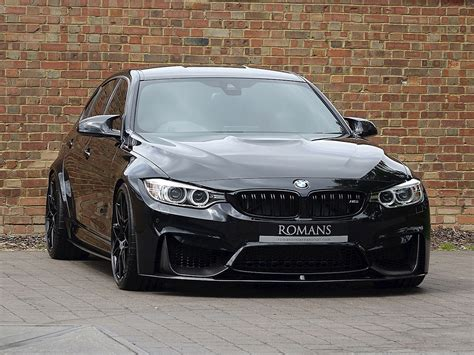 2017 used bmw m3 competition black sapphire metallic