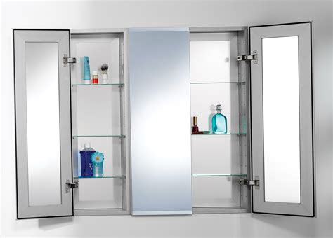 Stunning Double Doors Large Medicine Cabinet With Tempered