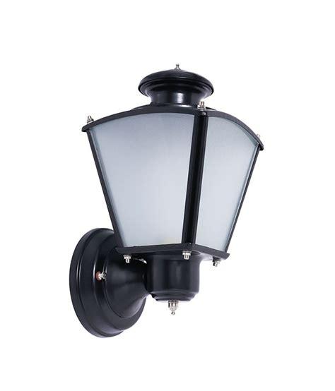fos lighting classic black small outdoor wall light buy