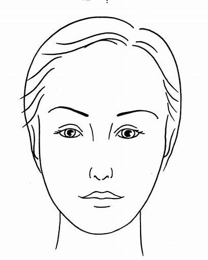 Face Makeup Blank Template Templates Application Canvas
