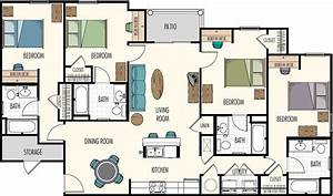 floor plans hasbrouck managementhasbrouck management With four bed room site plan