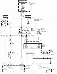 1998 Chrysler Seabreeze Fuel Pump Wiring Diagram