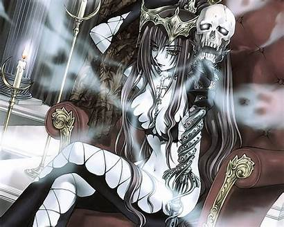 Anime Dark Queen Wallpapers Manga Evil Gothic