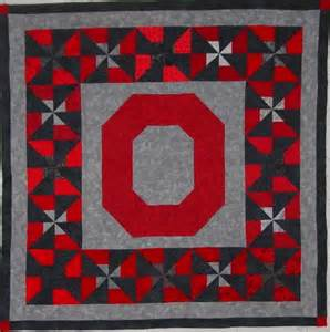 Ohio State Quilt Block Pattern