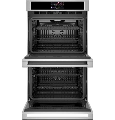 ztddpsnss monogram  smart electric convection double wall oven statement collection