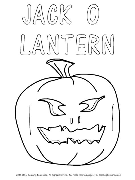 halloween printable coloring pages design   jack