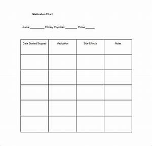 11  Medication Chart Template