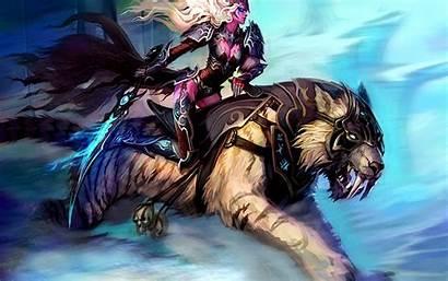 Warcraft Desktop Wallpapers Backgrounds Elf Wow Night