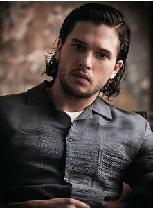 Can we all stop perving on Kit Harington's body? The man's ...