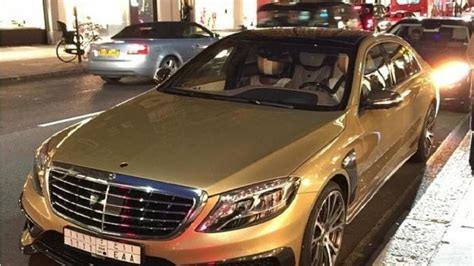 mercedes benz jeep gold gold mercedes benz s63 amg by brabus seen in london