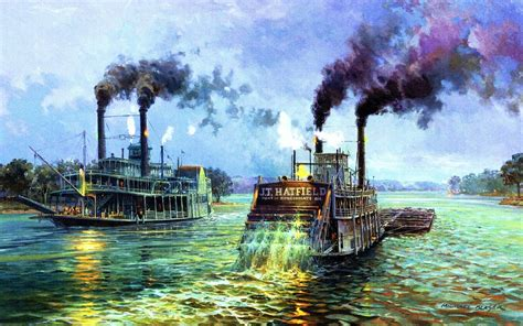 river steam boats mississippi wallpapers river steam