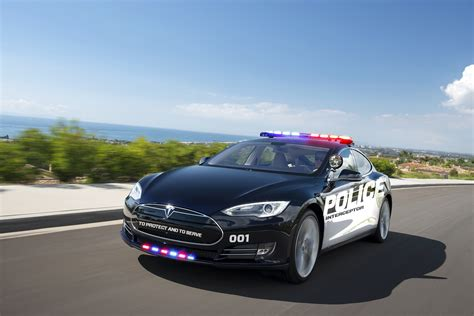 tesla pursuing police cruiser market  model  report