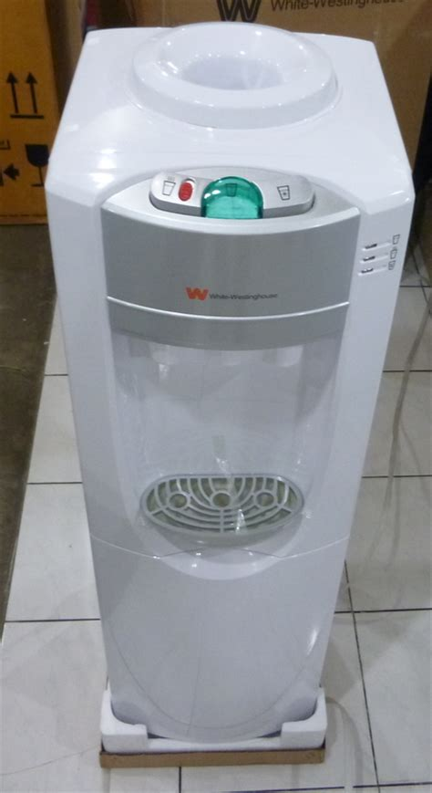 white westinghouse hot cold water dispenser cebu