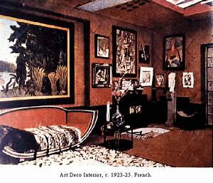 art deco With french art deco interior design