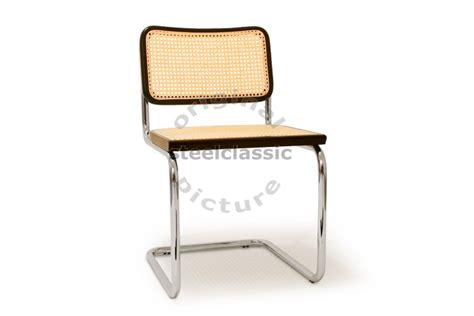 chaise wassily marcel breuer cesca chair steelclassic com
