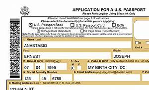 printable passport application ds 11 online application With apply for us passport ds 11