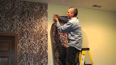 Camo Wallpaper Installation Mossy Oak Graphics Youtube