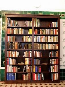 Bücherregal 2 Teilig : b cherregal modernes design massiv erle 250x200x35cm ebay ~ Indierocktalk.com Haus und Dekorationen