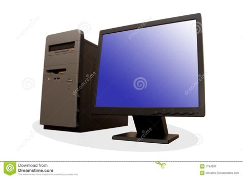 modern personal computer royalty  stock photography