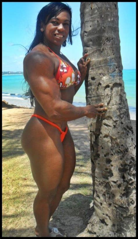 Muscle woman – Maria Aparecida Bradley