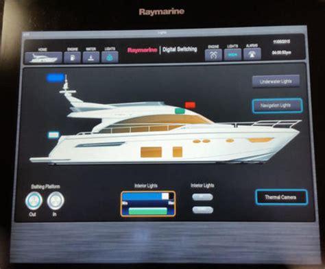 digital switching raymarine empirbus simrad naviops