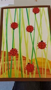 Basteln Sommer Grundschule : fr hling wiese marienk fer malfarben kunst pinterest marienk fer fr hling und basteln ~ Frokenaadalensverden.com Haus und Dekorationen