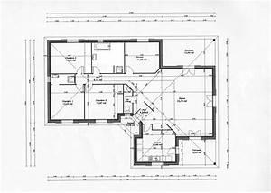 plan maison 140m2 r 1 ventana blog With idee maison plain pied 10 plan maison r 1 160 m2